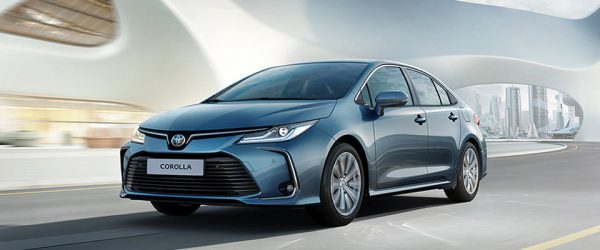 Специальное предложение на новые автомобили Toyota Corolla